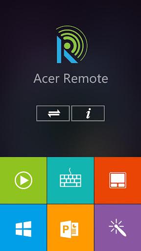Foto do Acer Remote