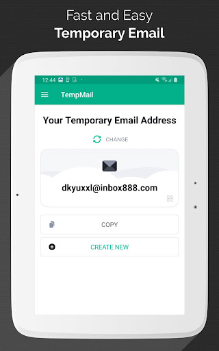 Temp Mail - Free Instant Temporary Email Address 2.41 Screenshots 5