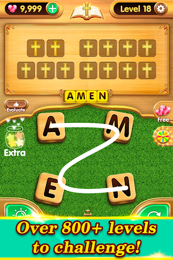 Bible Word Puzzle - Free Bible Word Games  screenshots 18