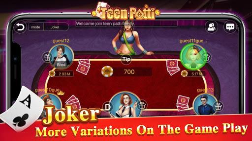 Teen Patti Tour - 3 Patti Indian Poker Card Game 1.1.2 screenshots 5