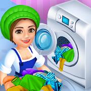 Laundry Shop Washing Game