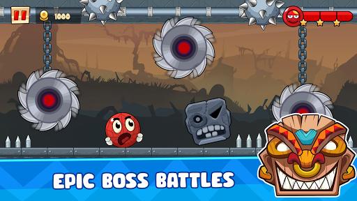 Ball's Journey 6 - Red Bounce Ball Heroes screenshots 12