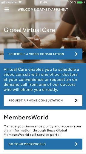 Global Virtual Care 1.0.4 Screenshots 1