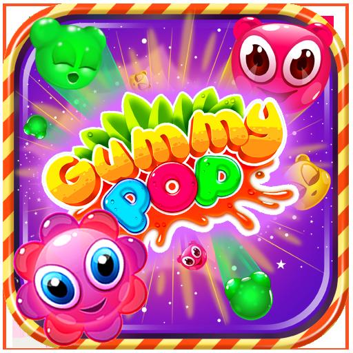 Gummy Pop : Chain Reaction & Kids Puzzle Game