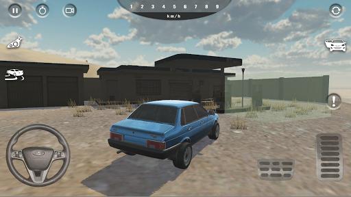Russian Car Simulator 2.0.1 screenshots 1