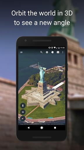 Download Google Earth mod apk