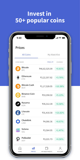 CoinDCX Go: Bitcoin, cryptocurrency investment app screenshots 5