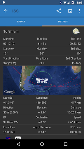 ISS Detector Pro