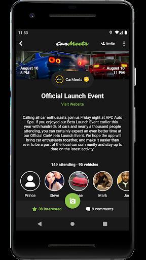CarMeets - The Ultimate Car Enthusiast App  Screenshots 6