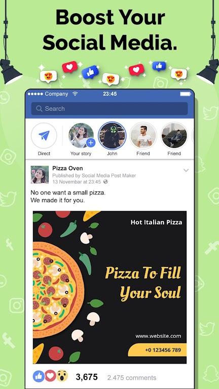 Social Media Post Maker, Planner, Graphic Design  poster 2