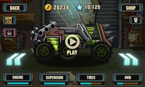 Zombie Road Racing 1.1.1 Screenshots 3
