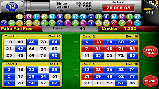 Nine Balls Video Bingo Screenshot