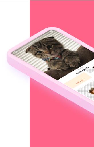 Sticker Cat - AI Sticker,  Meme & WASticker Maker  screenshots 2
