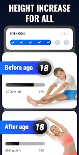Height Increase – Increase Height Workout, Taller MOD APK V1.0.16 – (Ads-Free) 1