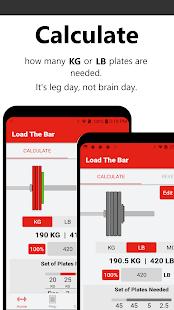 Bar Is Loaded - Gym Calculator