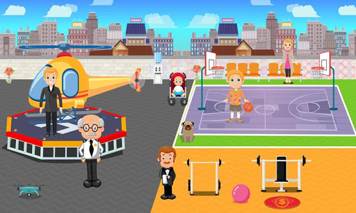 Pretend Play My Millionaire Family Villa Fun Game 1.0.3 screenshots 1