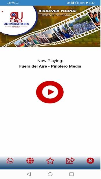 Universitaria Radio screenshot 1