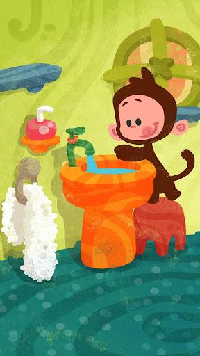 Tee and Mo Bath Time Free 1.2.5 screenshots 2