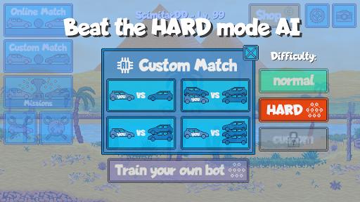 Pixel Boost League - 2D Rocket Powered Car Soccer 1.7.1 screenshots 6
