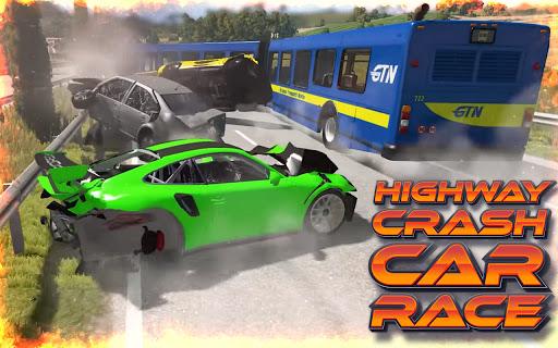 Highway Crash Car Race  screenshots 7