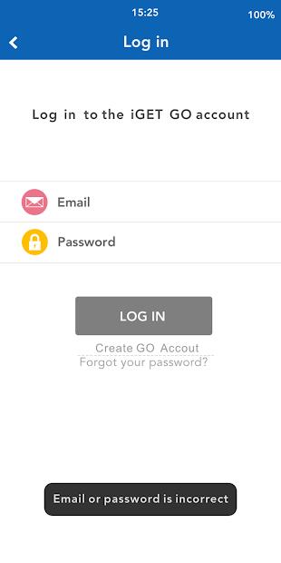 Captura 3 de iGET GO para android