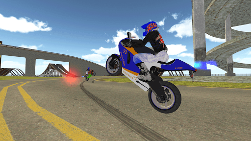 Bike Rider VS Cop Car - Police Chase & Escape Game Apkfinish screenshots 5