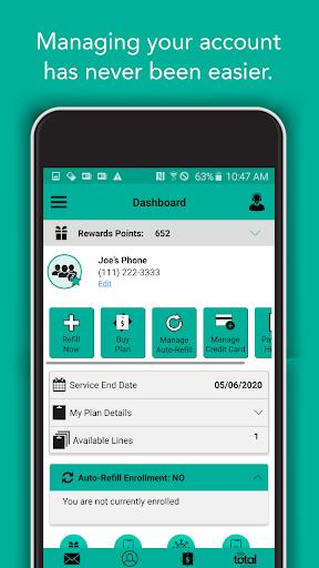 Total Wireless My Account R14.2.0 screenshots 1