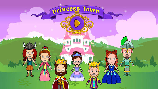 My Tizi Princess Town - Doll House Castle Game 2.1 Screenshots 1