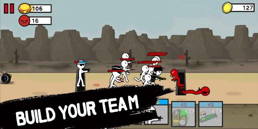 stickman army: world war legacy fight screenshot 3