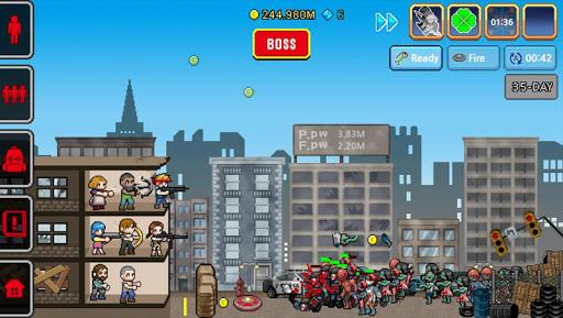 Télécharger Gratuit 100 DAYS - Zombie Survival mod apk screenshots 1