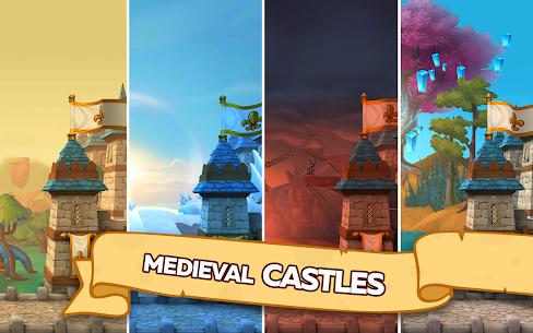 Hustle Castle Medieval Games In The Kingdom Kale ve Klan Kazanma Hileli Apk Güncel 2021** 1