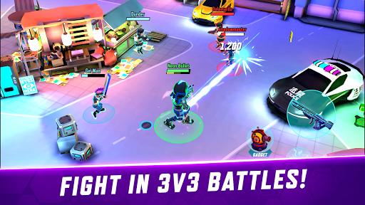Gridpunk - 3v3 PvP Battle Arena 0.6.02 updownapk 1