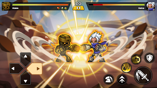 Brawl Fighter – Super Warriors Fighting Game Apk Download NEW 2021 4