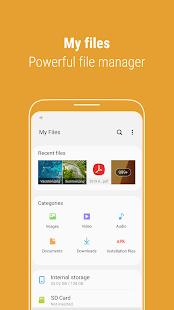 Samsung My Files Screenshot