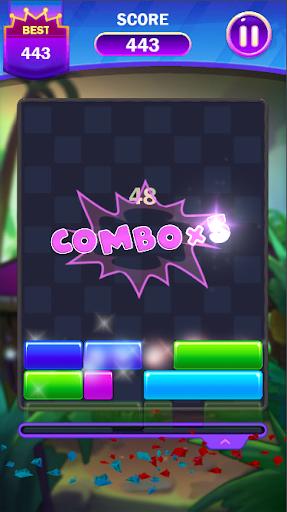 Code Triche Falling Puzzle - Funny Falling Block (Astuce) APK MOD screenshots 4