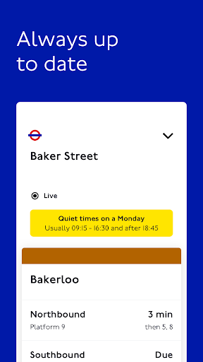TfL Go: Live Tube, Bus & Rail android2mod screenshots 5