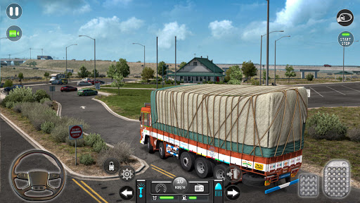 Real Mountain Cargo Truck Uphill Drive Simulator android2mod screenshots 15