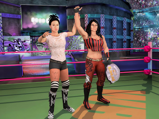 Bad Girls Wrestling Rumble: Women Fighting Games apkdebit screenshots 14