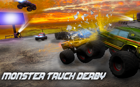 Monster Truck Derby 3D 1.4 Android Mod + APK + Data 1