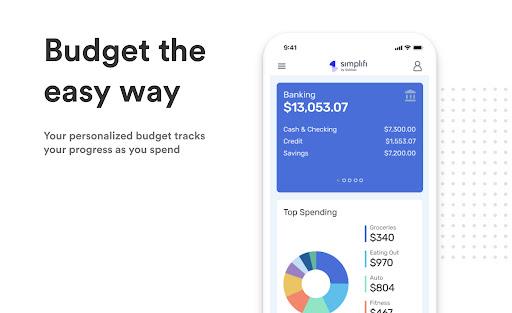 Simplifi: Budget, Savings, & Bill Tracker App  screenshots 1