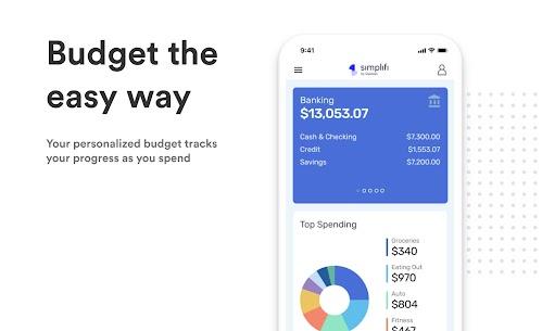 Simplifi  Budget, Savings,  Bill Tracker App Apk 3