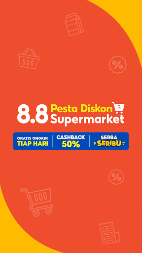 Shopee 8.8 Diskon Supermarket screenshots 2