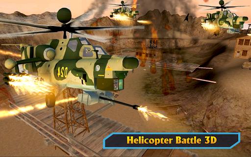Gunship Helicopter Air War Strike android2mod screenshots 15