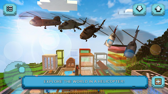 Helicopter Craft: Flying & Crafting Game 2020 screenshots 5