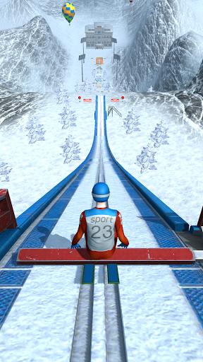 Ski Ramp Jumping modiapk screenshots 1