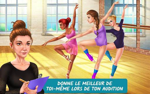Histoires d'école de danse – Du rêve à la réalité APK MOD (Astuce) screenshots 1