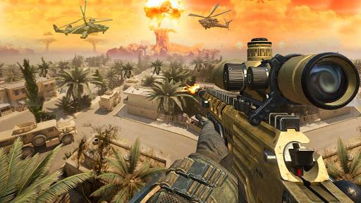 Télécharger Gratuit Army Sniper Shooter 2018: Commando Gun War apk mod screenshots 5
