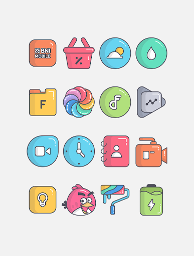 Download APK: Olympia – Icon Pack v3.0 [Mod] [Sap]