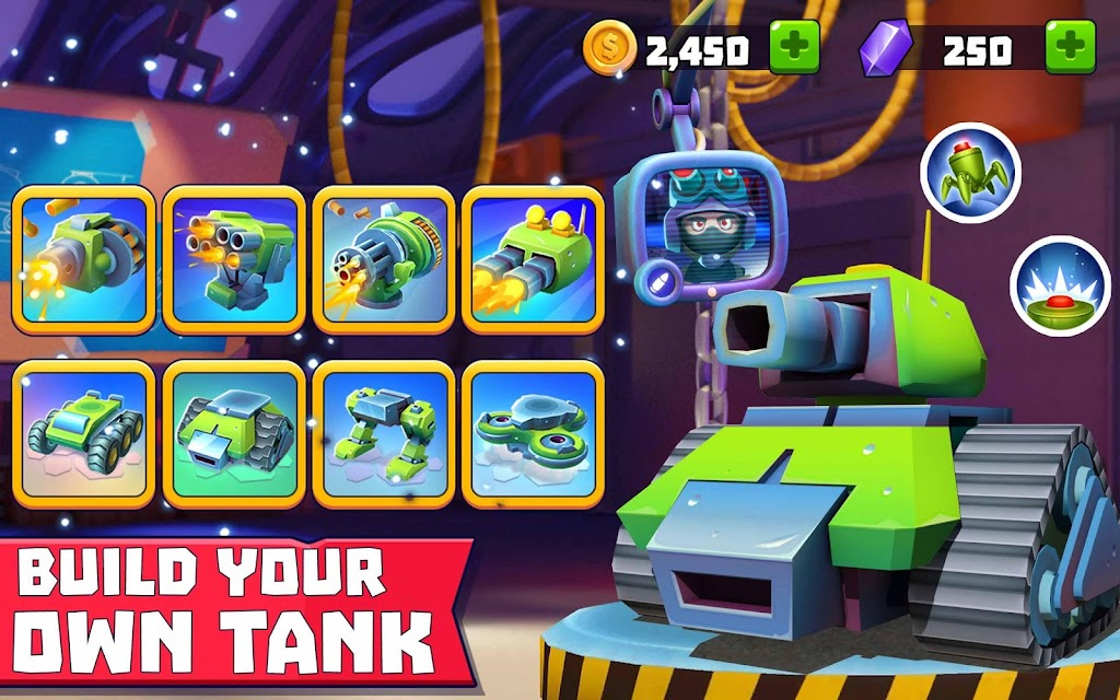 Tanks A Lot! - Realtime Multiplayer Battle Arena  poster 9