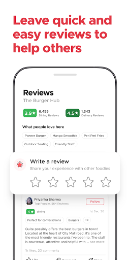 Zomato - Online Food Delivery & Restaurant Reviews android2mod screenshots 7